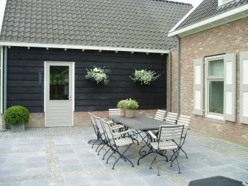 Buiten living tuinhuis modern gardening outdoor pergola