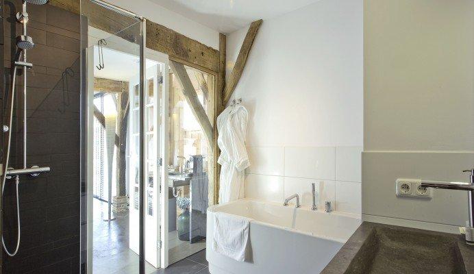 Badkamer En Suite : Badkamer met dubbele douche interessant kleine badkamer met