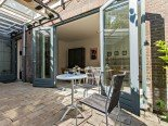 terras bed and breakfast Park43 Ripperdapark 43 Haarlem
