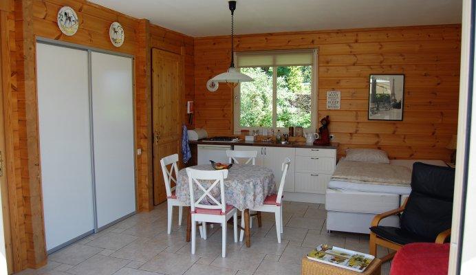 Zoedt houten huisje